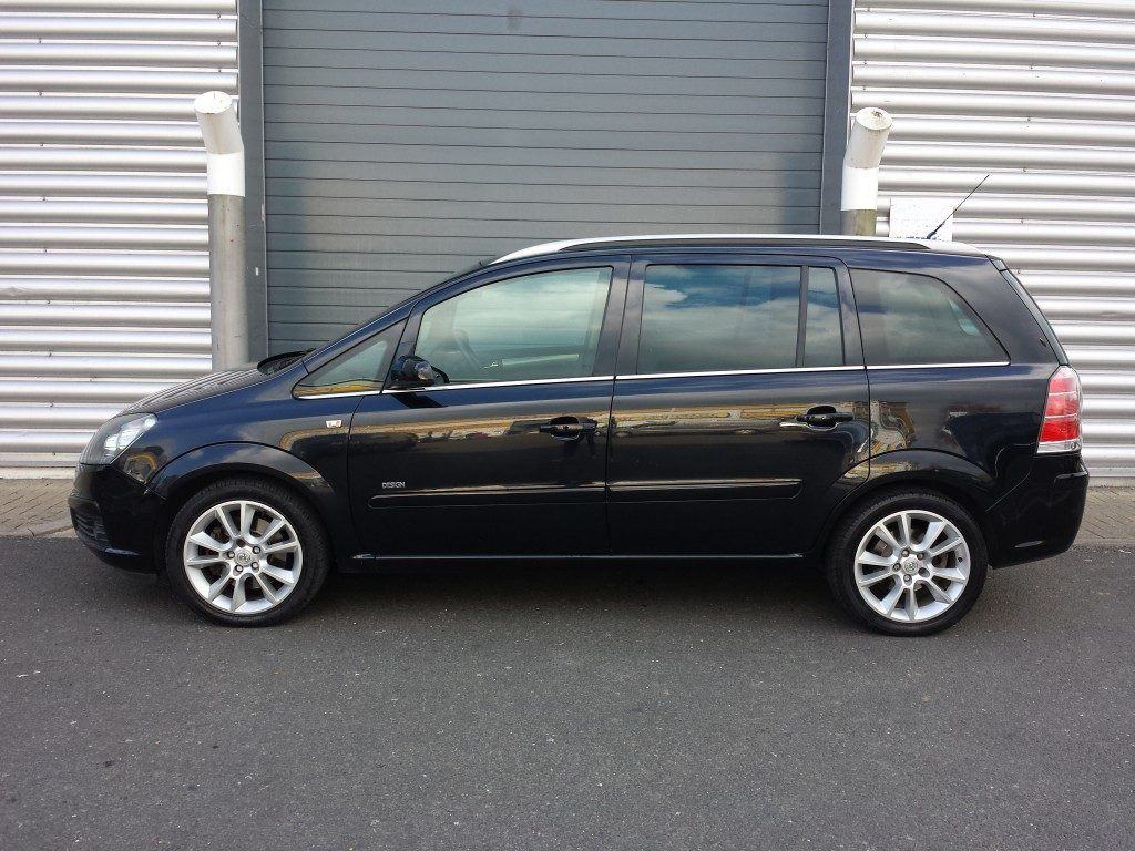 vauxhall zafira turbo 16v 2 0 5dr 2007 for sale aspinall. Black Bedroom Furniture Sets. Home Design Ideas