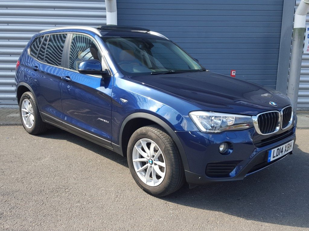 bmw x3 se xdrive 5dr 2014 for sale aspinall cars used cars epsom creating higher. Black Bedroom Furniture Sets. Home Design Ideas