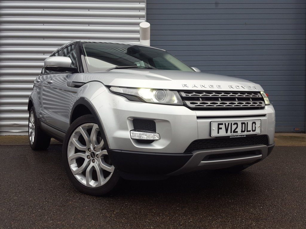 range rover evoque pure sd4 2 2 5dr 2012 for sale. Black Bedroom Furniture Sets. Home Design Ideas