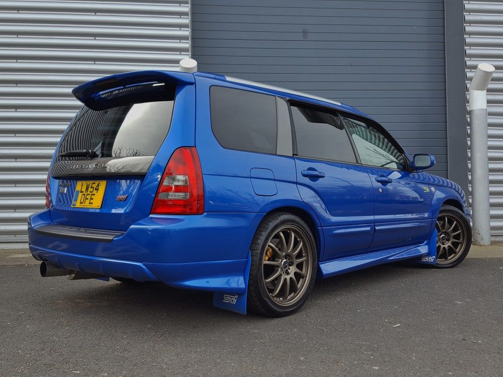 Used Subaru Wrx For Sale >> Subaru Forester WRX 2.0 5dr 2004 for Sale - Aspinall Cars - Used Cars Dorking